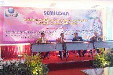 Semiloka dan Pelantikan FPPTI Jawa Tengah 2017 – 2019