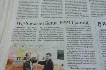 Wiji Suwarno Ketua FPPTI Jateng